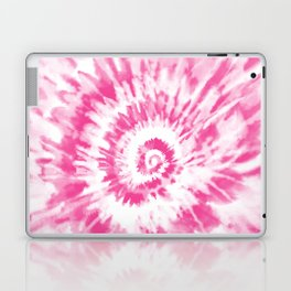 Light Pink Tie Dye Laptop & iPad Skin