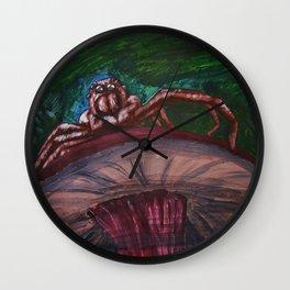 oOOo--Art Prints Wall Clock