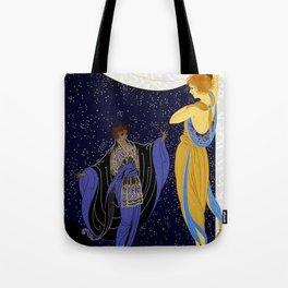 "Art Deco Design ""Night Dream"" Tote Bag"
