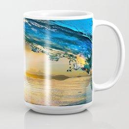 Glowing Wave Coffee Mug