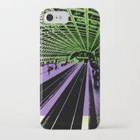 washington dc iPhone & iPod Cases featuring Washington DC Metro by Amy Smith - ColorScape