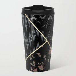 Geometric shapes . Travel Mug