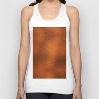 gold foil Tank Tops featuring Gold Foil Texture 4 by Robin Curtiss