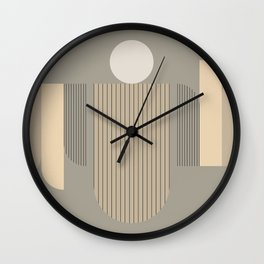 Abstract Decor Wall Clock