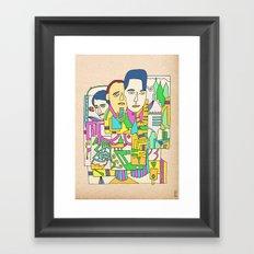 - camus - Framed Art Print