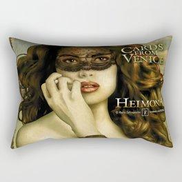 HEIMONA - CARDS FROM VENICE Rectangular Pillow
