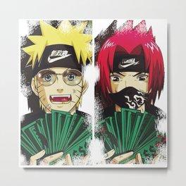 naruto sasuke swag Metal Print