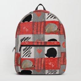 Hedgie Plaid Backpack