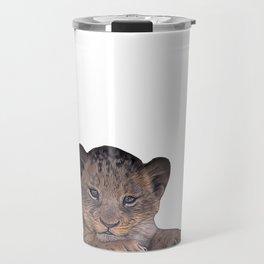 baby cheetah Travel Mug