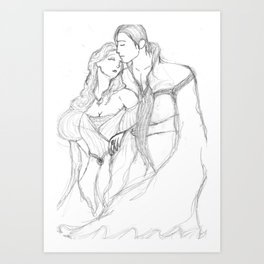 Phantom Love Art Print