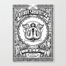 Bearstiary Canvas Print