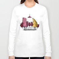 breakfast club Long Sleeve T-shirts featuring Breakfast Club by Salih Gonenli