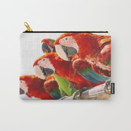 Red macaws Carry-All Pouch