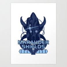 Marauder Shields Art Print