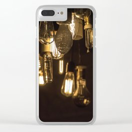 Lights Out Clear iPhone Case