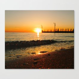 West Islip Sunset Canvas Print