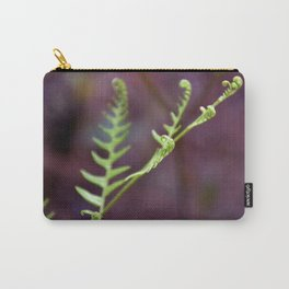 Fresh Unfurling Fern Carry-All Pouch