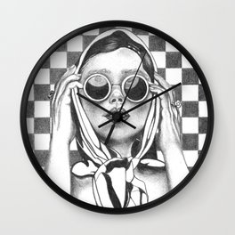 Not Tonight Darling Wall Clock