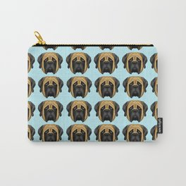 Apricot Mastiff Carry-All Pouch