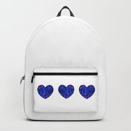 Three Space Hearts Backpack