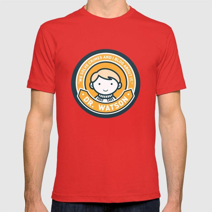 Cute John Watson - Orange T-shirt