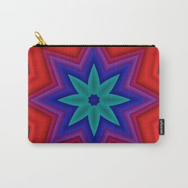 red and blue - mandala Carry-All Pouch