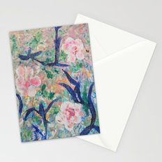 Shiny flowers Stationery Cards
