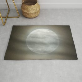 The Moon by Murray Bole Rug