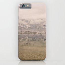 Lake Bohinj Reflection iPhone Case