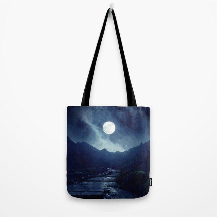 Walk to the Moon Tote Bag