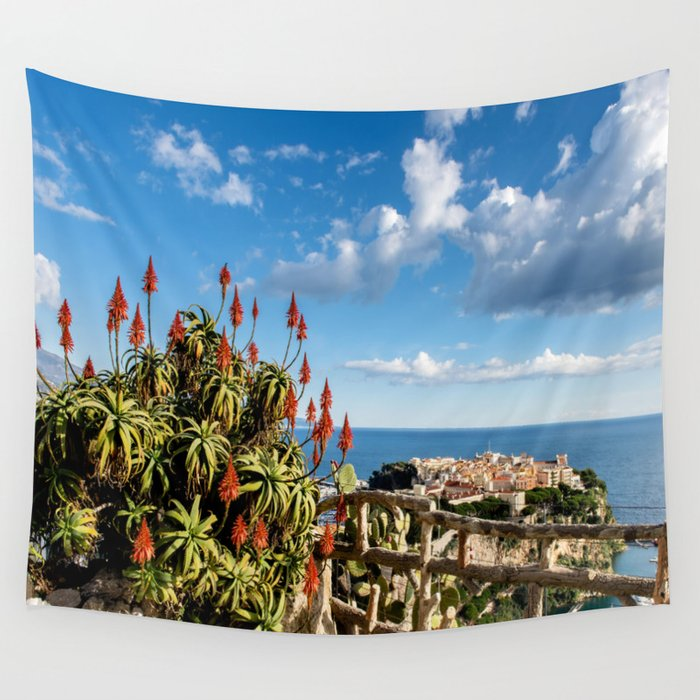 Monaco Viewpoint Wall Tapestry