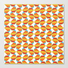 Pattern Repeat Canvas Print