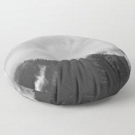 Undone - nature photography Floor Pillow