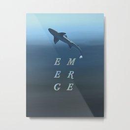 emerge Metal Print