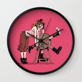 Kick Ass Machine Wall Clock