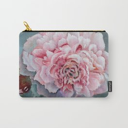 Peony Memories Flower Painting Carry-All Pouch