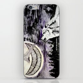 On The Full Moon iPhone Skin