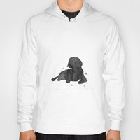 beagle Hoodies featuring Beagle by Carma Zoe