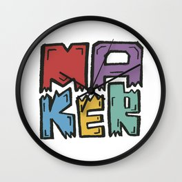 Maker Wall Clock