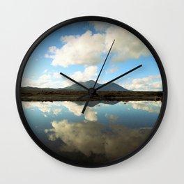 Mt. Konocti Reflects On Clear Lake Wall Clock