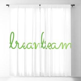 DREAM quote Positive affirmation motivational quote Blackout Curtain