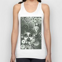 gears of war Tank Tops featuring Steel gears by Gaspar Avila