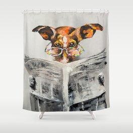 DOG'S NEWS Shower Curtain