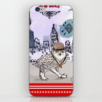 saga iPhone & iPod Skins featuring Department Store Saga by Olive Primo Design + Illustration