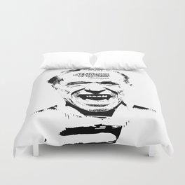 Charles Bukowski Quote Laziness Duvet Cover