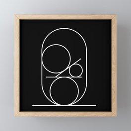 Equilibrio:02 Framed Mini Art Print