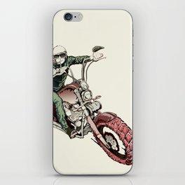 Rider iPhone Skin