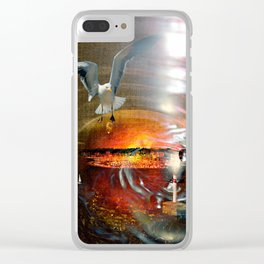 sogno Clear iPhone Case