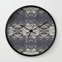More Ice lattice Wall Clock