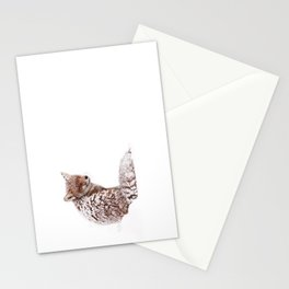 A Fox Fantasy (Red Fox in the snow)  Stationery Cards